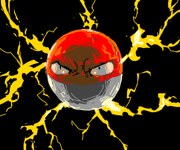 voltorb is angry