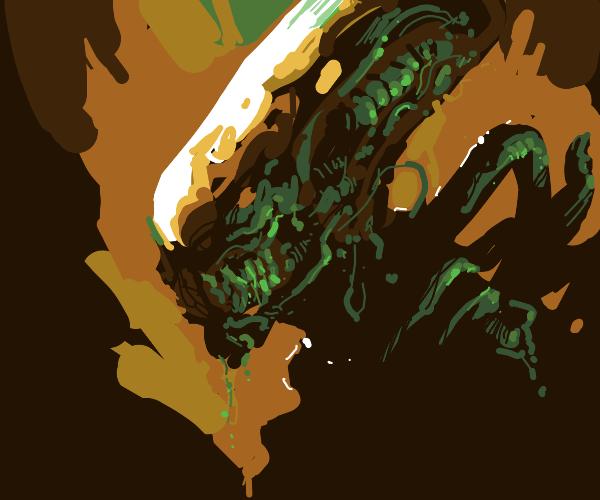 Alien from Alien movie