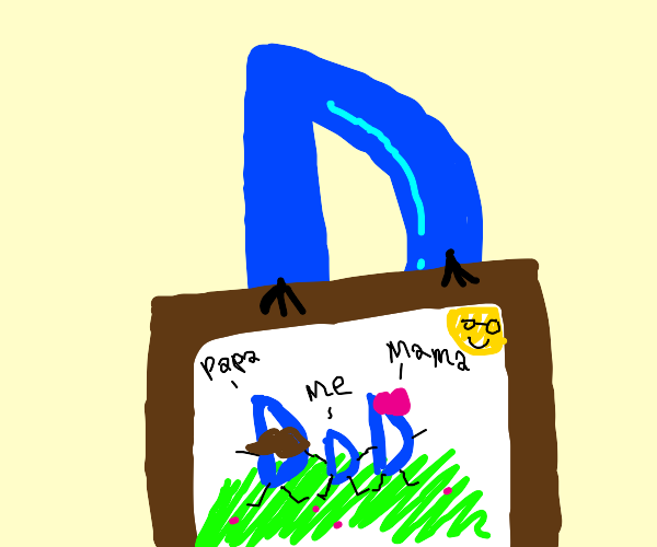 """Drawception D loves """"your drawing here"""" paper"""