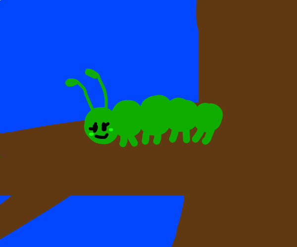 girl caterpillar