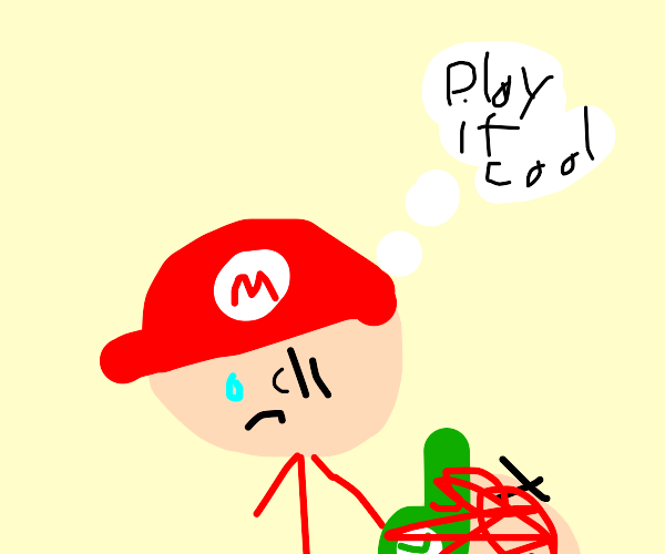 Mario Does A Bad Thing