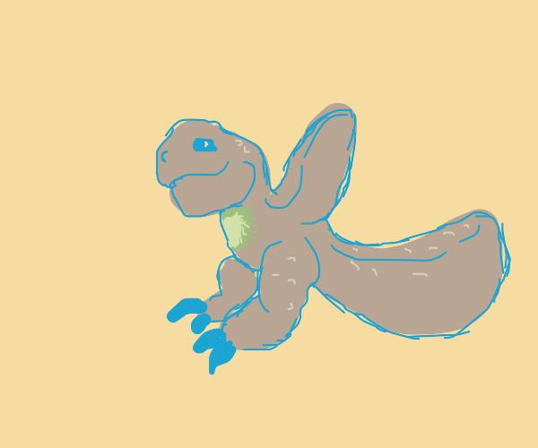 Some cute, floofy li'l theropod