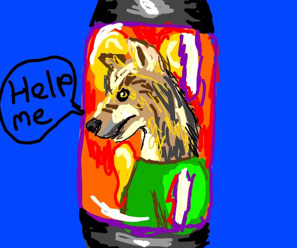Werewolf in a Lava Lamp