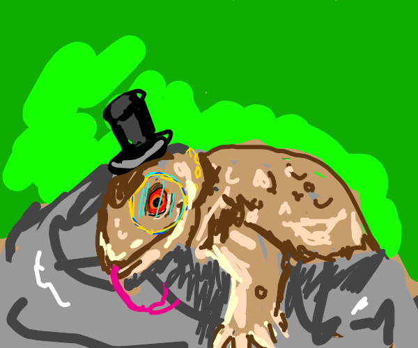 Insect / Reptile with Top-Hat and Monocle