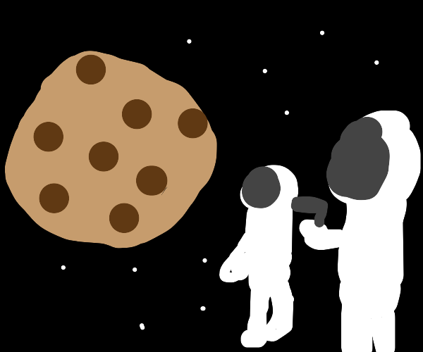 Wait, it's all cookie? -Always has been -meme