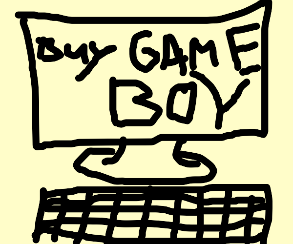Buy a Gameboy on a game website