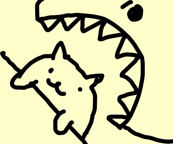 Eating bongo cat