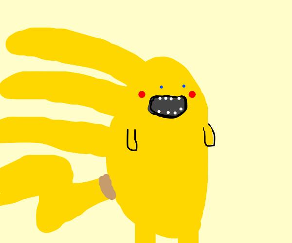 pikachu+ sonic= Sonichu