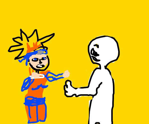Naruto vs Amogus