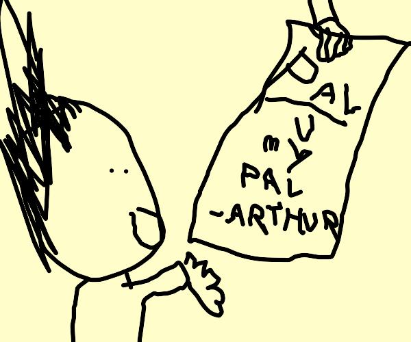 Pal from arthur