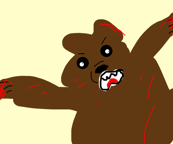 Killer bear lost control