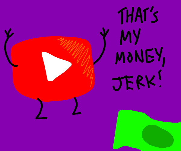 Stealing money from YouTube