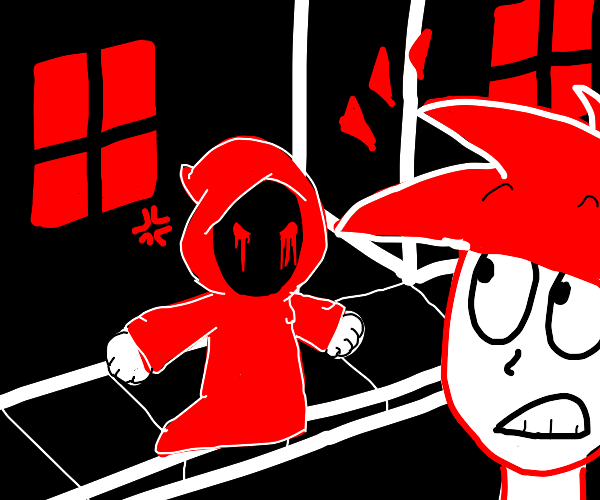 Badboyhalo shows up at your house to murder