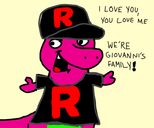 Team rocket is a great big happy family