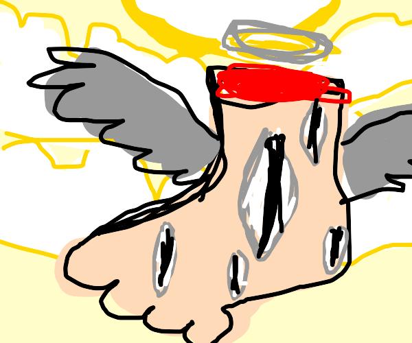 Terrifying Foot Angel