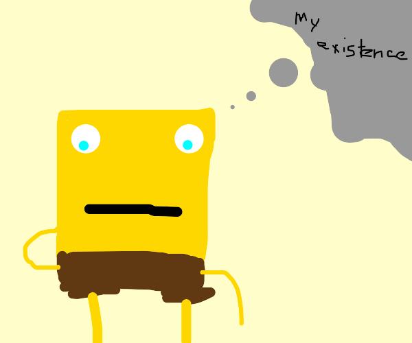 Spongebob questions his existence