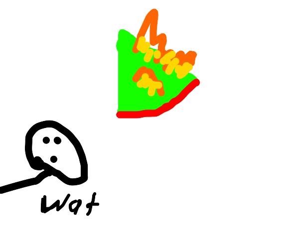 Reverse Watermelon on Fire