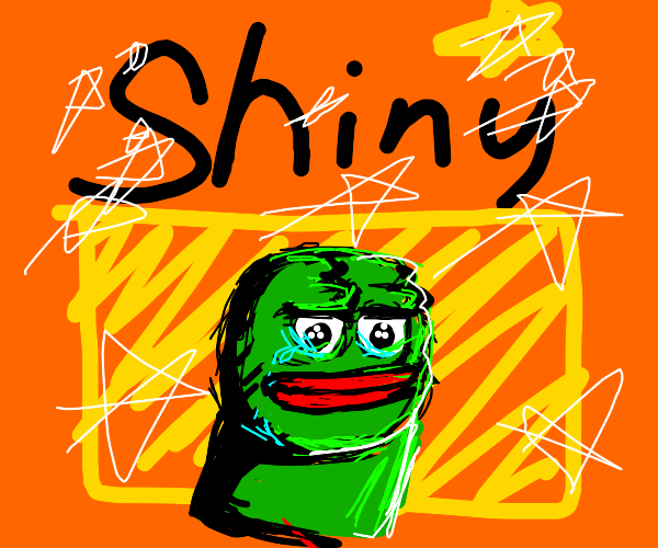 Rarest pepe frog in existence