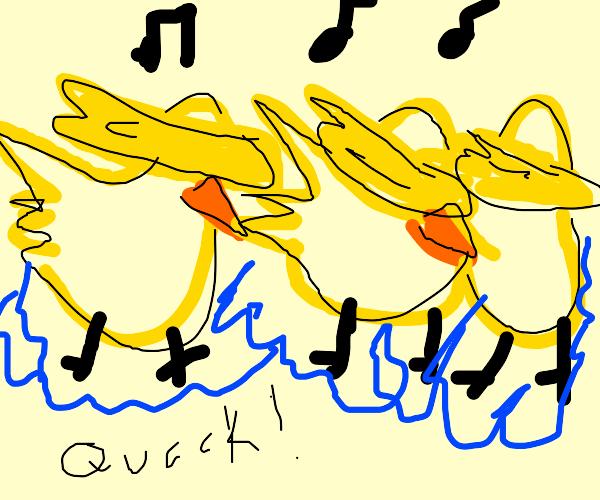 triplet duck dance class