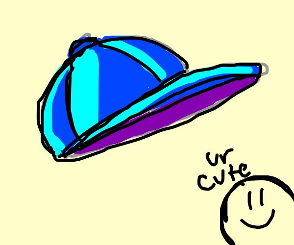 Cyan cap hat