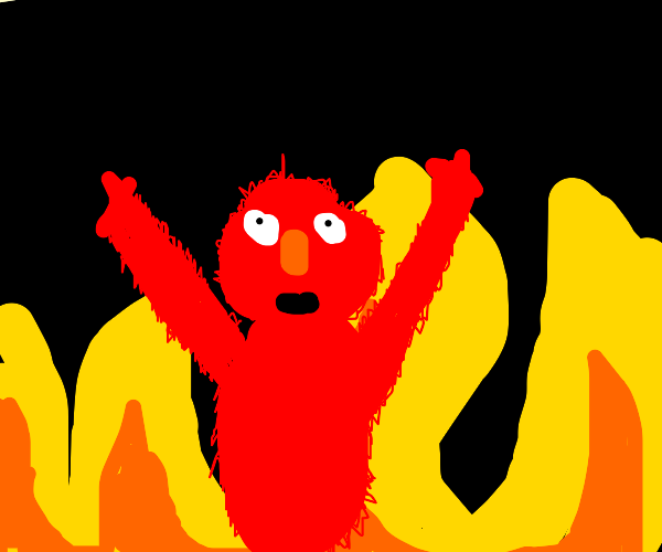Elmo Rise Meme Drawception