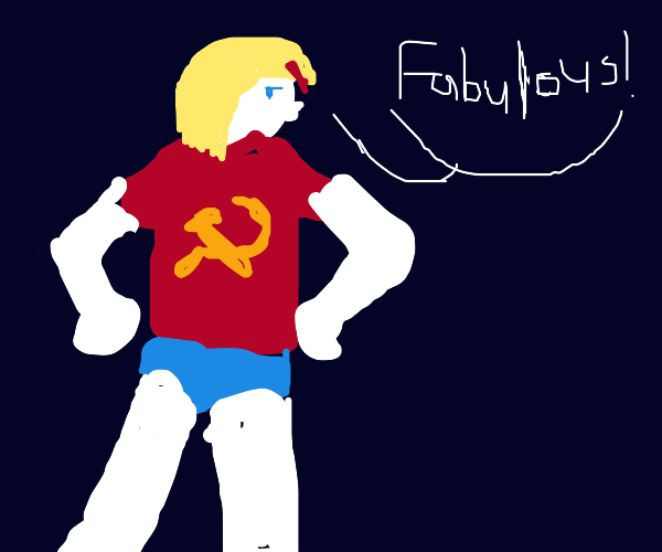 Fabulous hammer and sickle