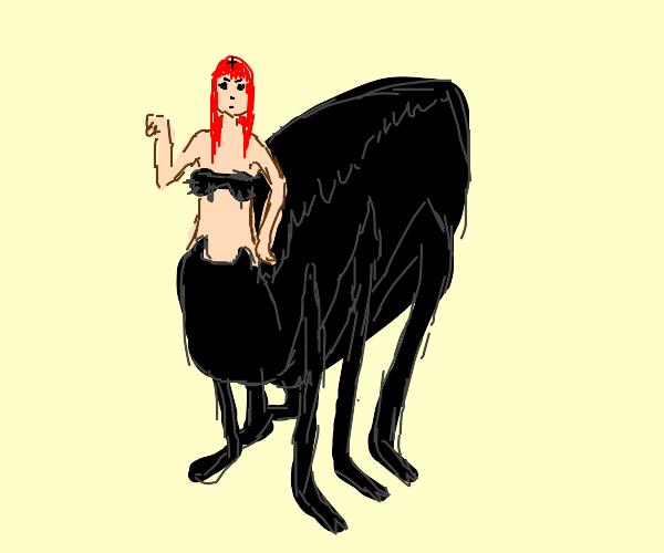 Goth Lady Drider