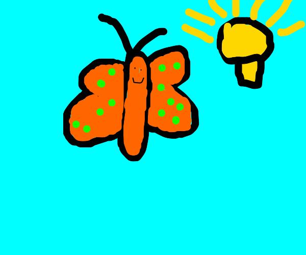 butterfly has an idea
