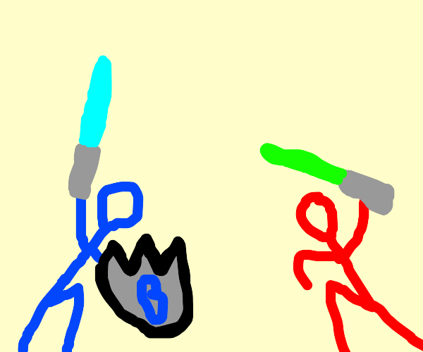 Red vs Blue (Show) Tucker w/ energy sword