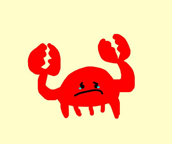 Depressed crab