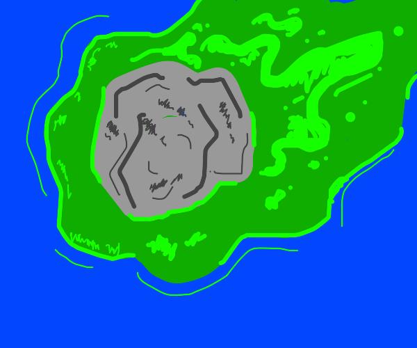 Acid meteor