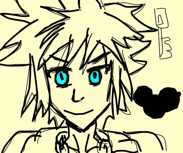 the kindom hearts boy