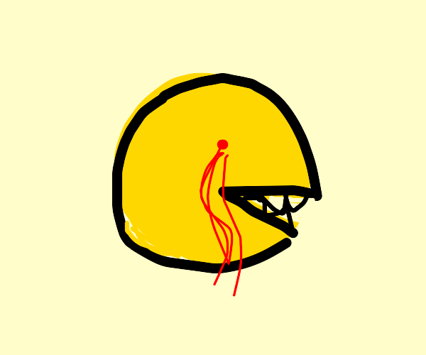 The true horror of Pac-Man