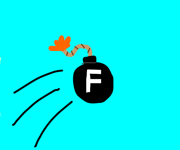 Deploying the F bomb.