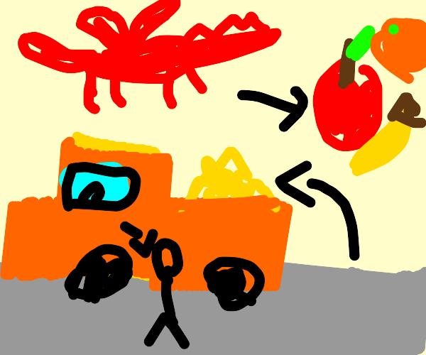 Dragonfruit Truck Driver