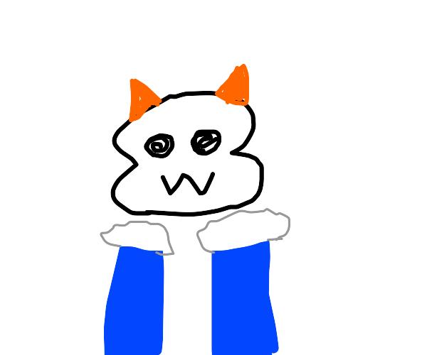Sans becomes a furry