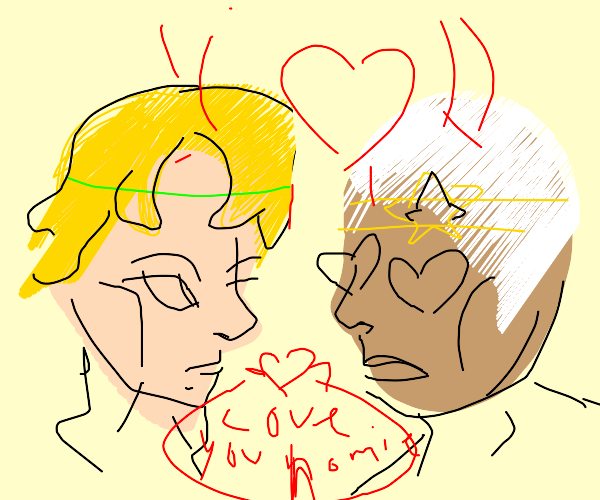 Dio and Pucci are in love