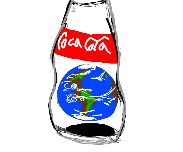 Earth in a bottle.