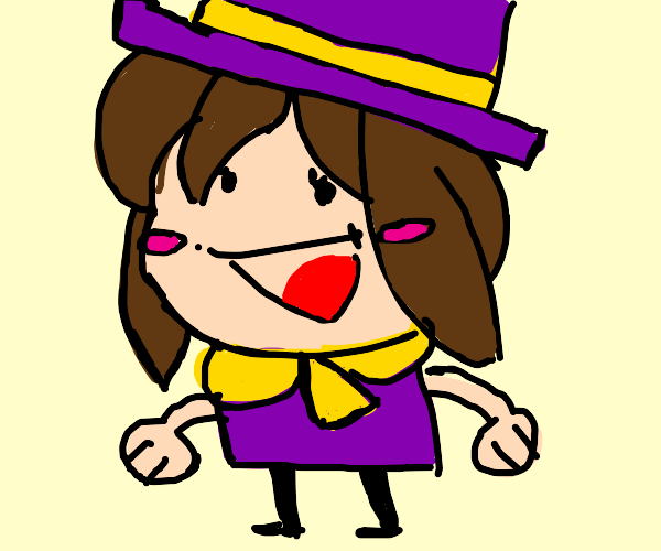 "Hat Kid labeled ""hatkid"""