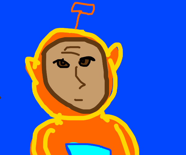 Orange telletubbie