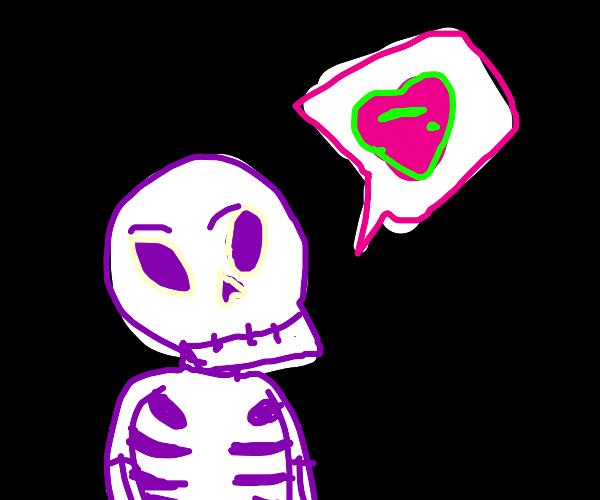 Skeleton in love