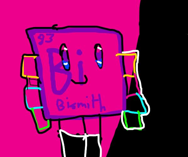 Scientific Element Symbol-man