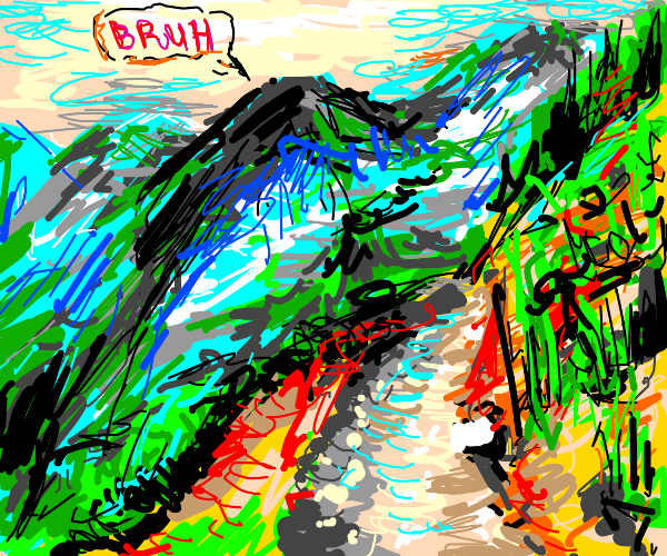 mountain has a bruh moment