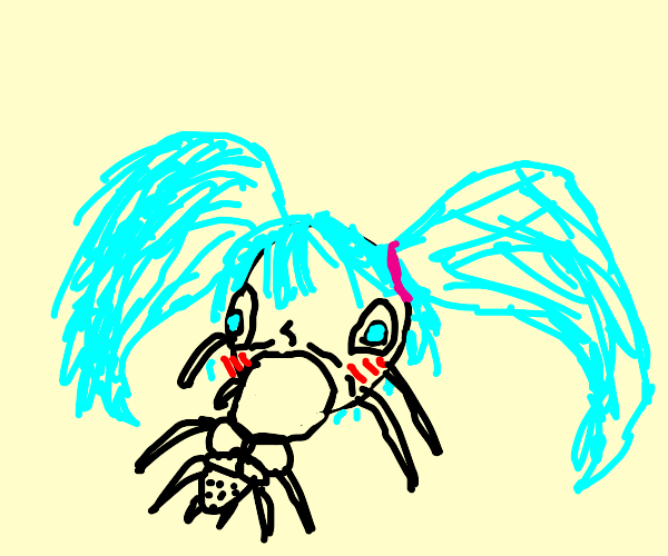 hatsune miku - the spider version