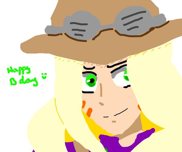 It's my bday draw a jojo character
