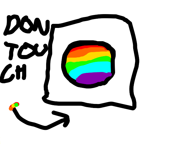 Don't press the rainbow button!