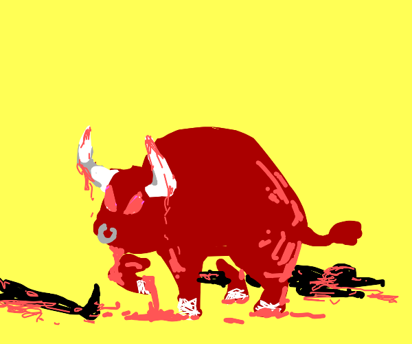 bull kills 2 people