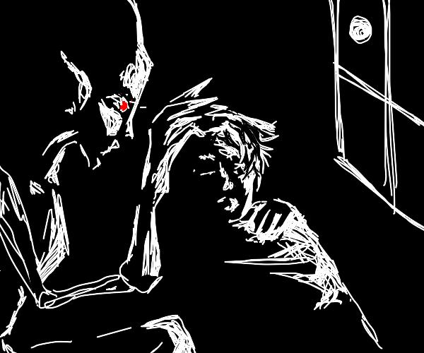 your sleep paralysis demon watching you