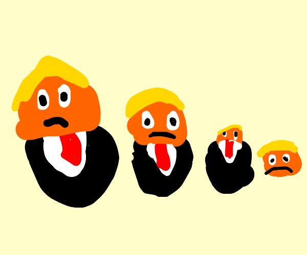 Donald Trump matryoshka doll