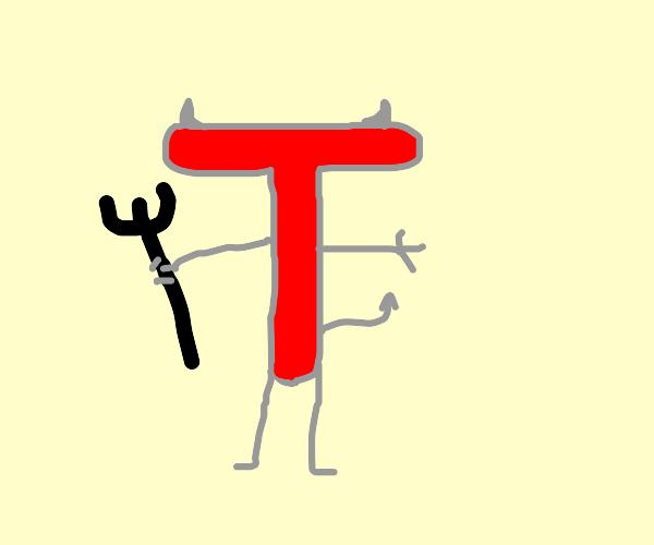 """Drawception D's evil twin, """"T"""""""